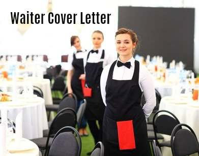 3 female waiters standing in a line in a restaurant dining area with words